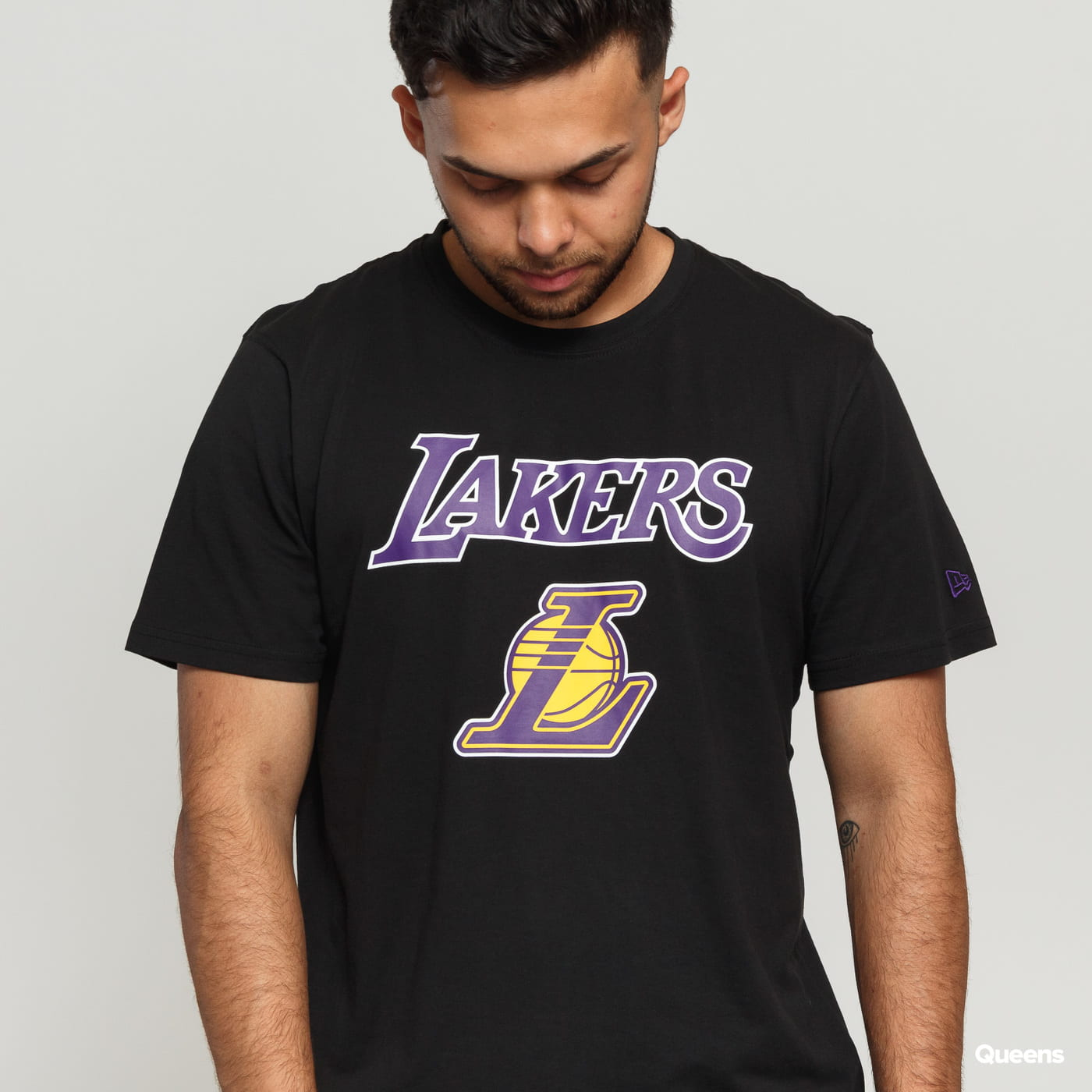 New Era Team Logo Tee LA Lakers C/O black