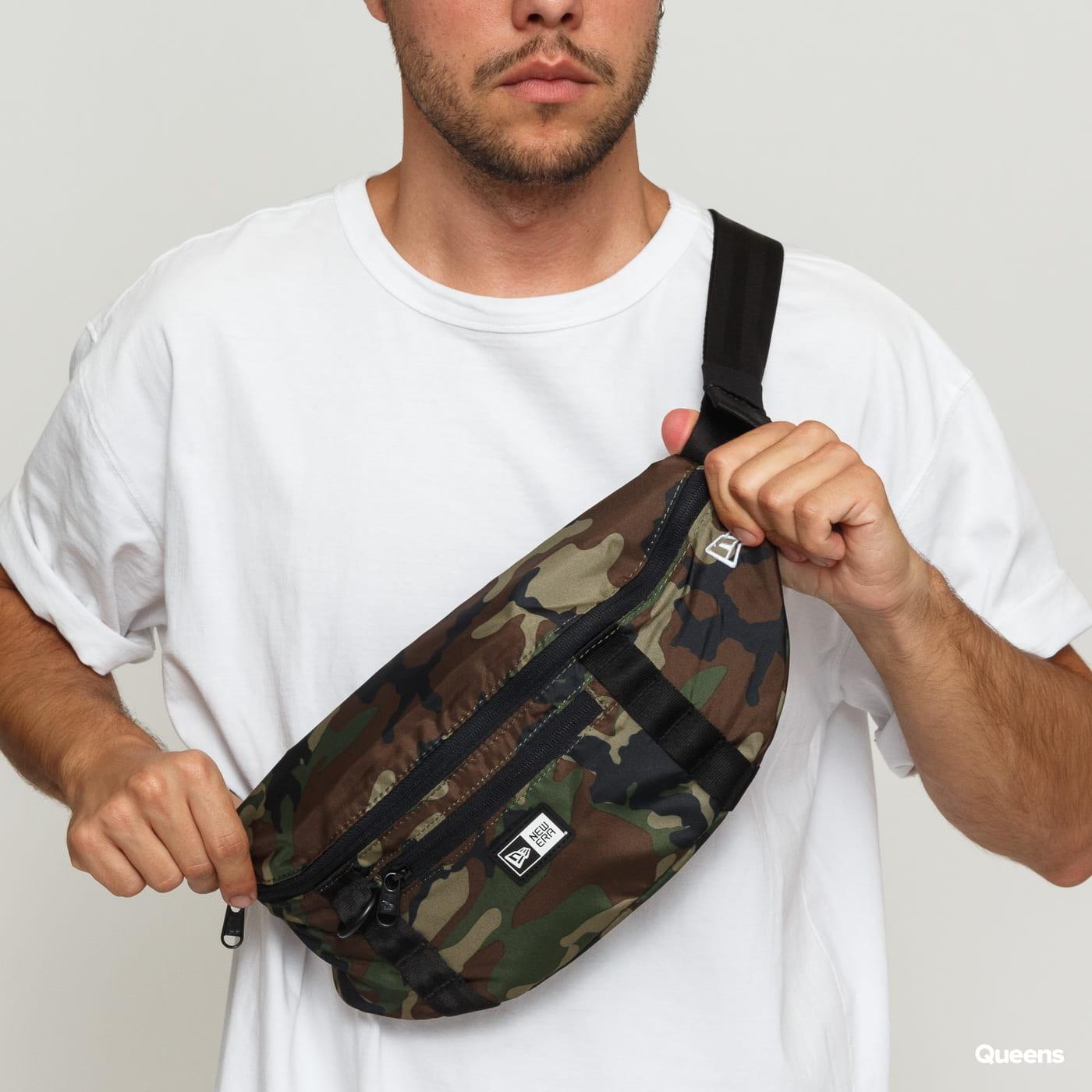 New Era Waist Bag Light camo grün