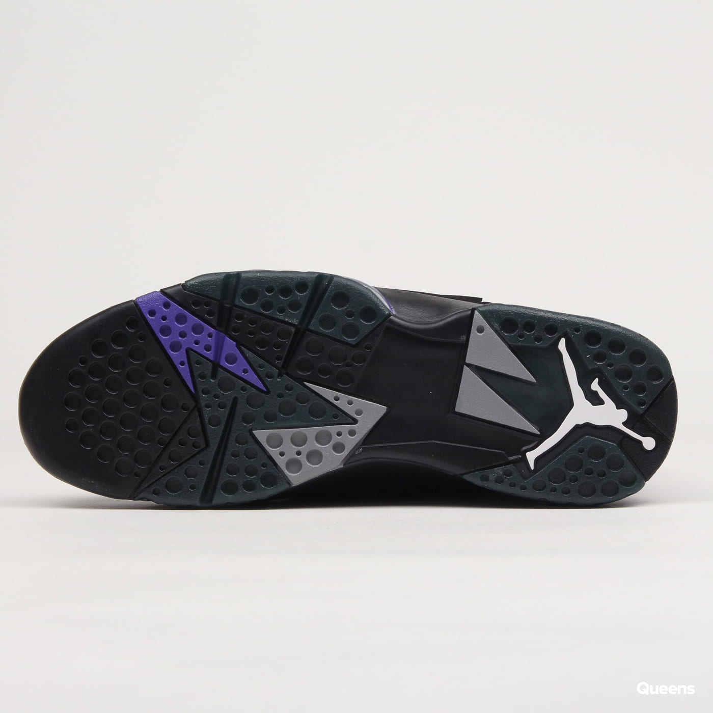 hot sale online 1733d e9f27 Nike Air Jordan 7 Retro black / field purple - fir
