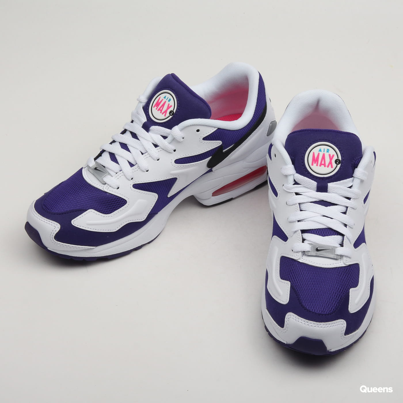 Nike Air Max2 Light white / black - court purple