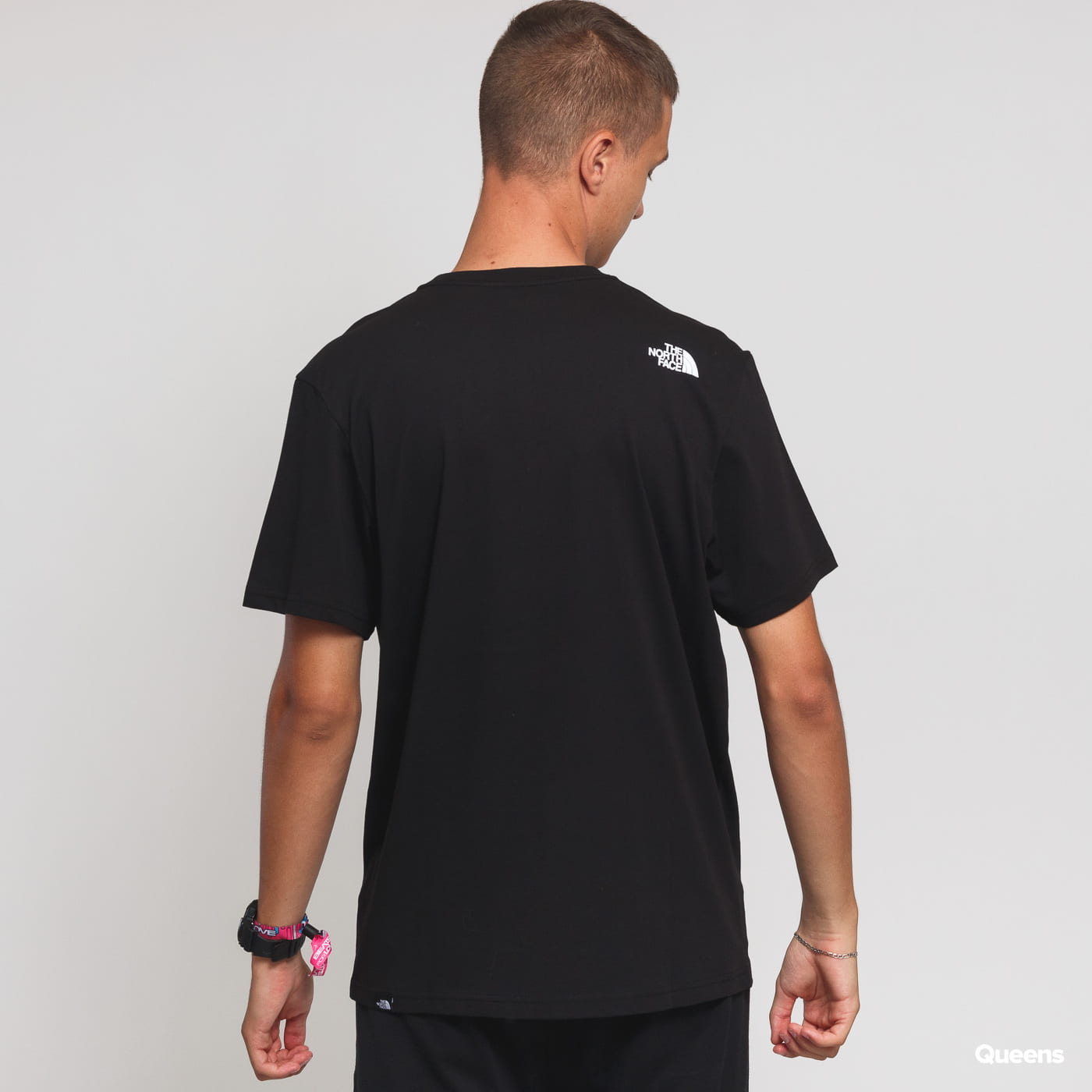 The North Face M SS Fine Tee black