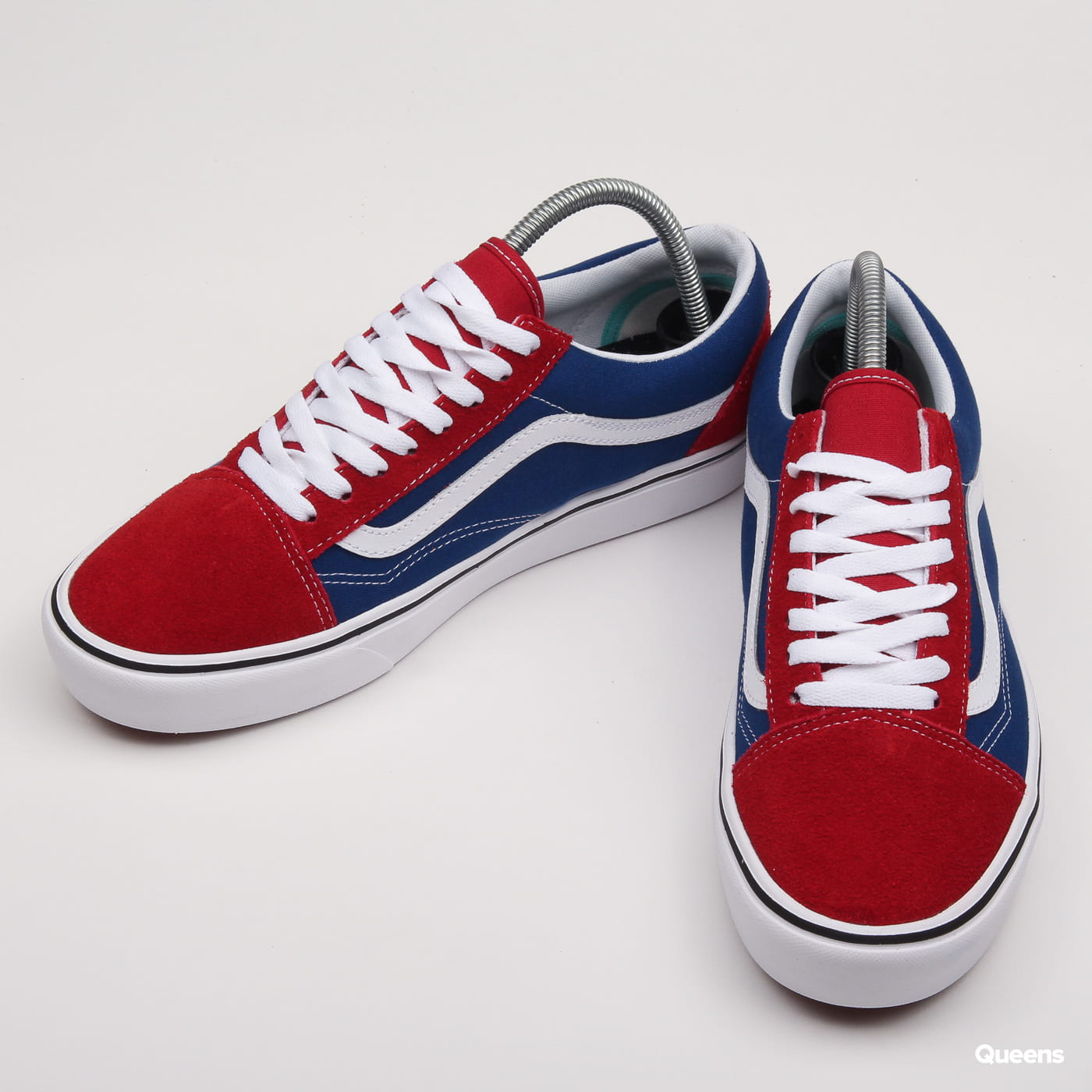 Vans ComfyCush Old Skool (two-tone) chilli pepper / true blue