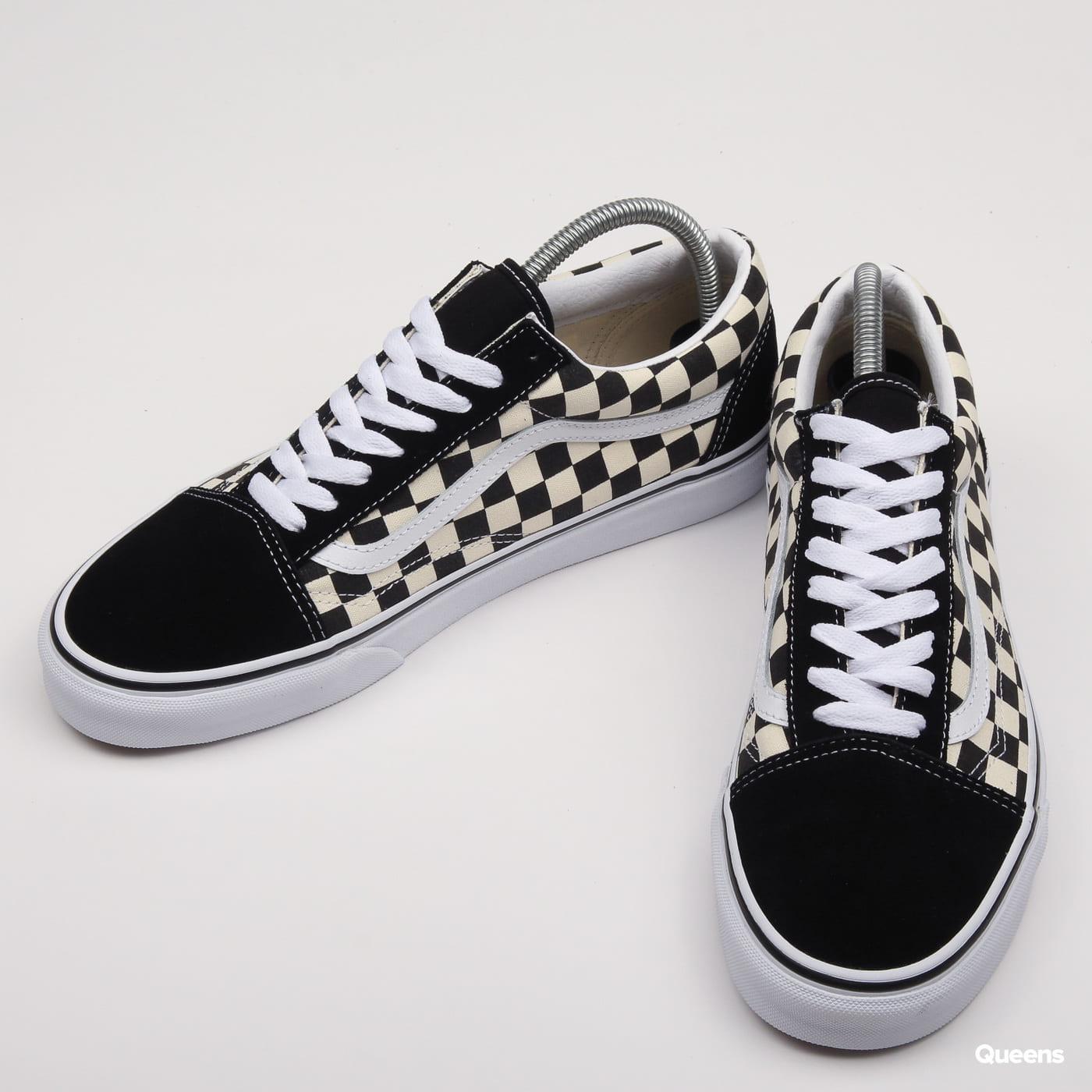 Vans Old Skool (primary check) black / white
