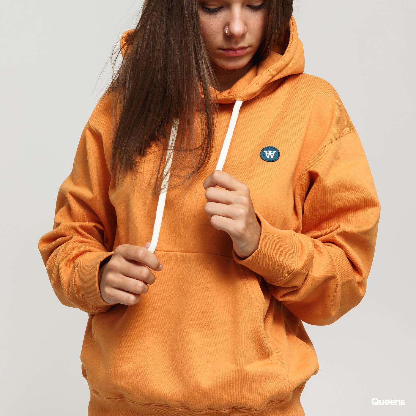 WOOD WOOD Jenn Hoodie oranžová