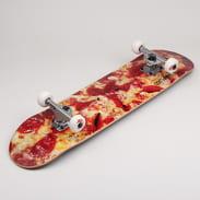 Ambassadors Komplet Skateboard Pizza vínový / světle žlutý