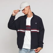 FRED PERRY Sports Tape Shell Jacket navy
