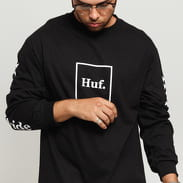HUF LS Essentials Domestic Tee černé