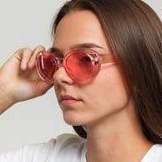 Jeepers Peepers Pink Oval Sunglasses růžové