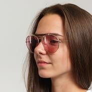 Jeepers Peepers Tort Brow Bar Sunglasses zlaté / růžové
