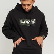 Levi's ® Graphic PO Hoodie černá