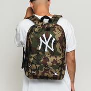 New Era MLB Stadium Bag NY camo zelený