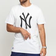 New Era MLB Team Logo Tee NY C/O bílé