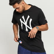 New Era MLB Team Logo Tee NY C/O černé