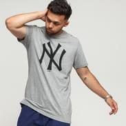 New Era MLB Team Logo Tee NY CO melange šedé