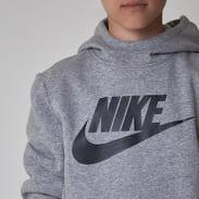 Nike Boys Hoodie LG SLTP melange šedá