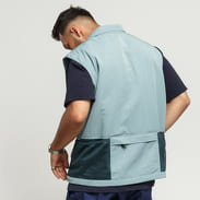 Nike M NRG ACG Vest šedomodrá / tmavě zelená