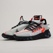 Nike React ISPA ghost aqua / total crimson - black
