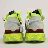 Nike React ISPA platinum tint / team red