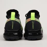 Nike W Air Vapormax Flyknit 3 black / black - volt - blue lagoon