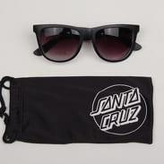 Santa Cruz Check Strip Sunglasses černé