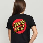 Santa Cruz W Classic Dot Tee čierne
