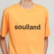 Soulland Logic Chuck Tee oranžové