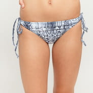 Urban Classics Ladies Animal Bikini Snake bílé / tmavě šedé