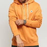 WOOD WOOD Ian Hoodie oranžová