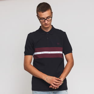 FRED PERRY Sports Tape Pique Shirt