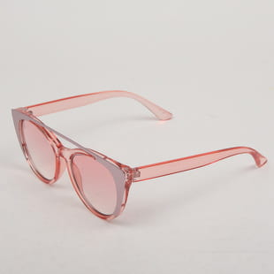 Jeepers Peepers Pink With Metal Sunglasses