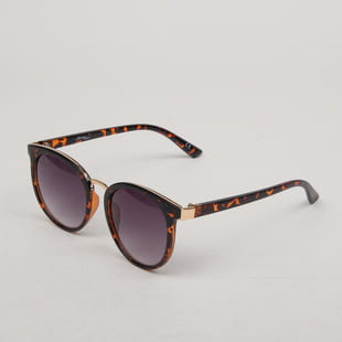 Jeepers Peepers Round Tort Sunglasses
