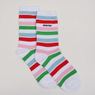 Santa Cruz Strip Socks