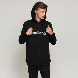 Soulland Hooded Sweat W. Front Flock Print