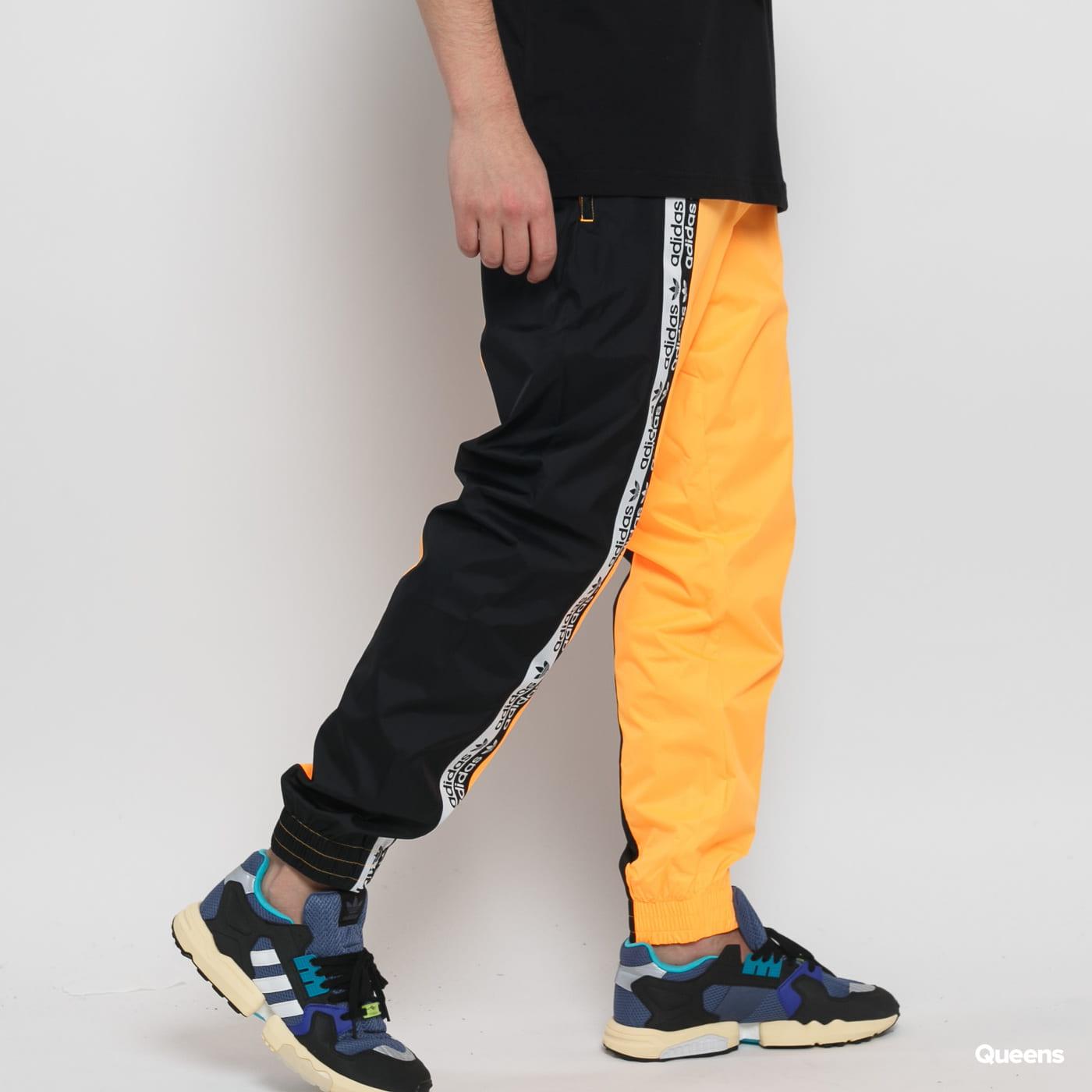 adidas Originals R.Y.V. Blkd Track Pant neon orange black