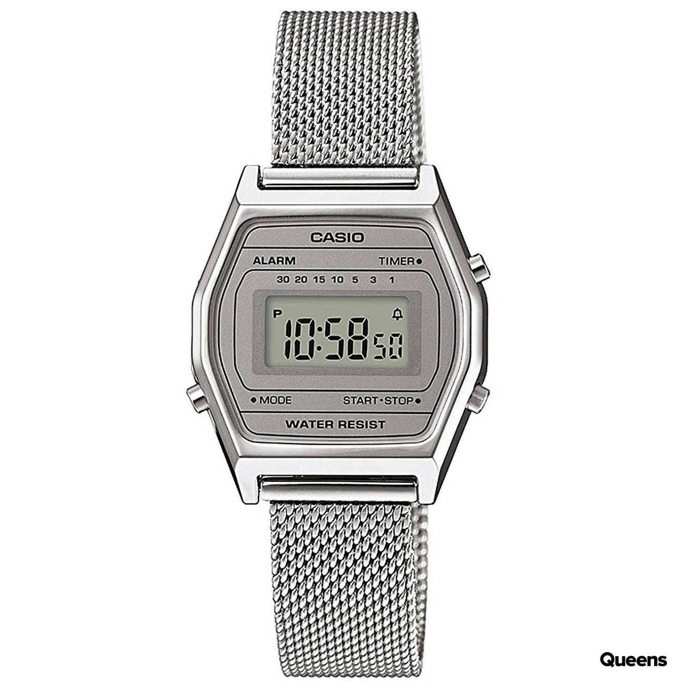 Casio LA 690WEM-7EF silber