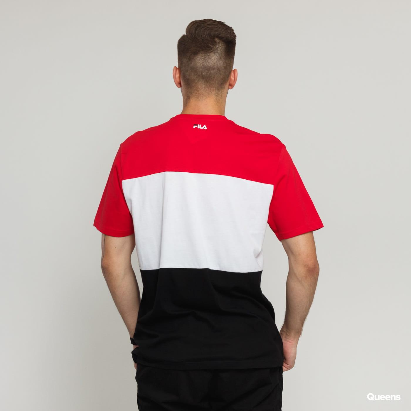 Fila Men Day Tee červené / černé / bílé
