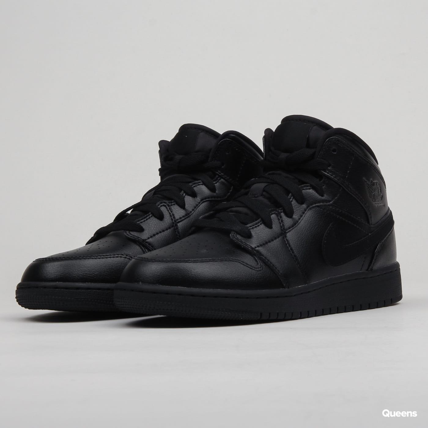 Jordan Air Jordan 1 Mid (GS) black