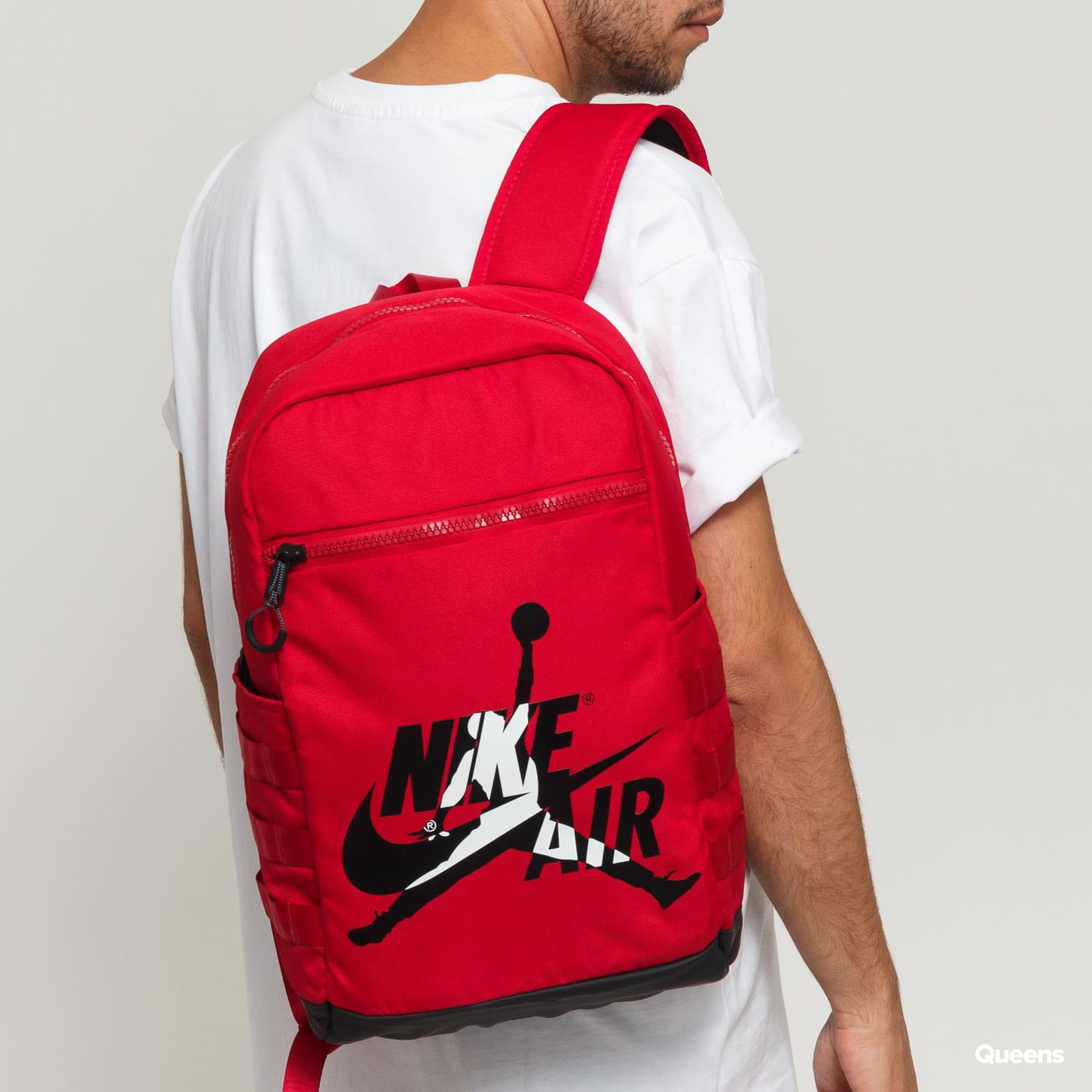 Jordan Classics Backpack red / black