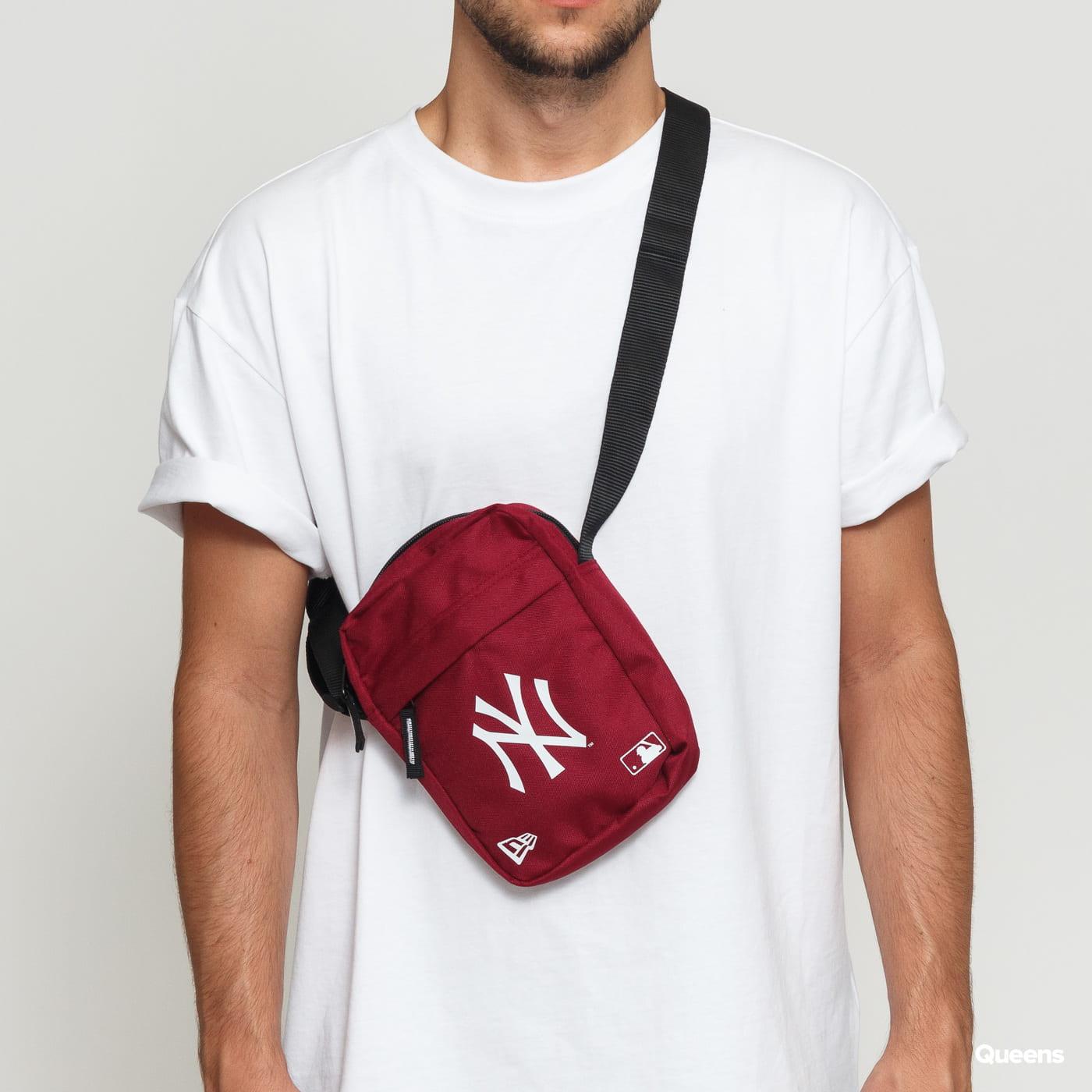 New Era MLB Side Bag NY burgund