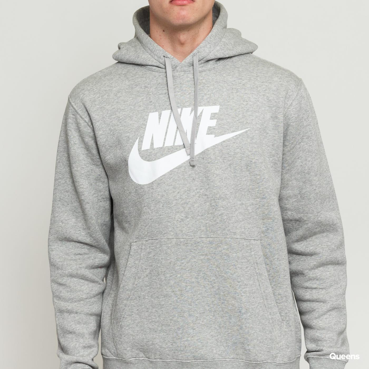 Nike M NSW Club Hoodie PO BB grey