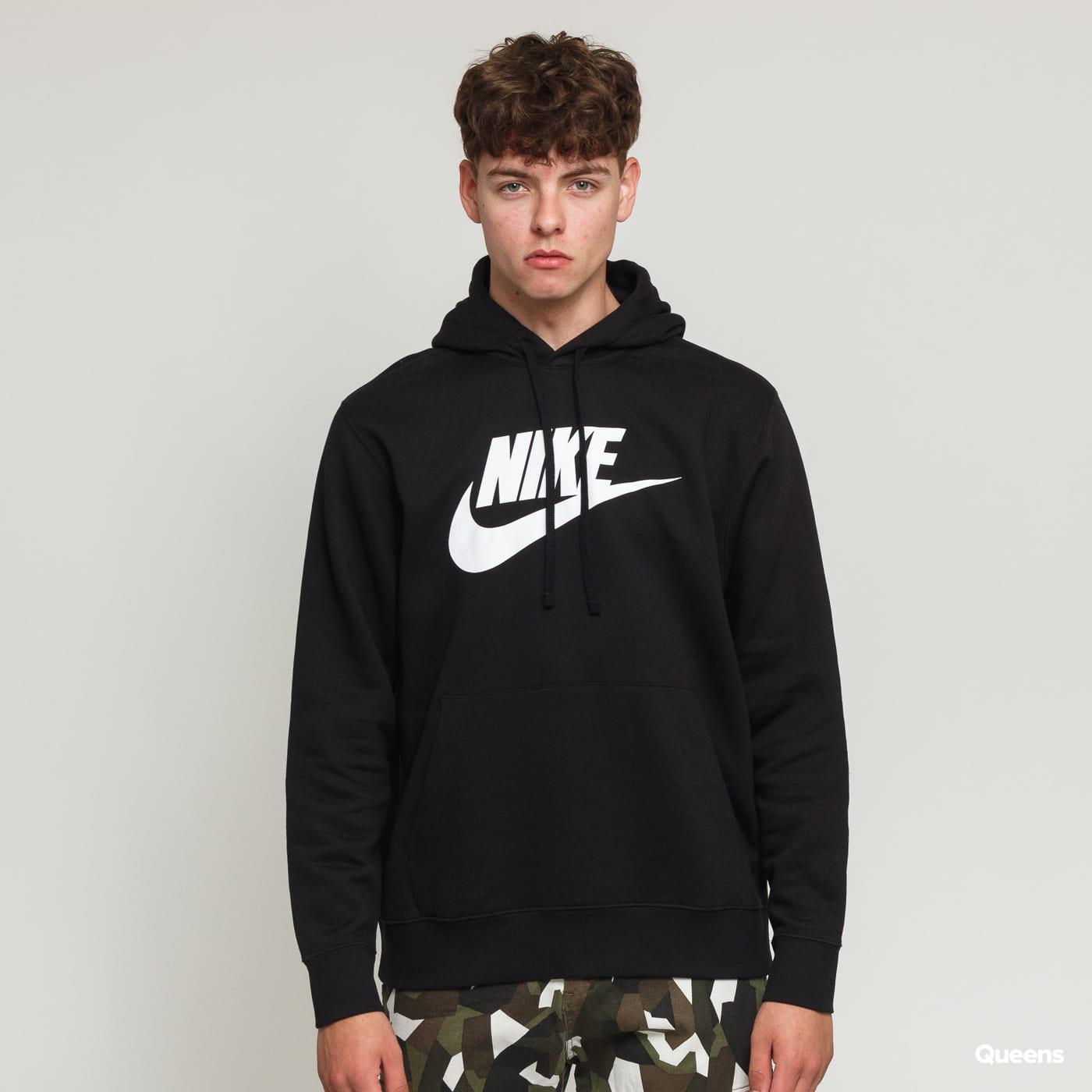 Nike M NSW Club Hoodie PO BB čierna