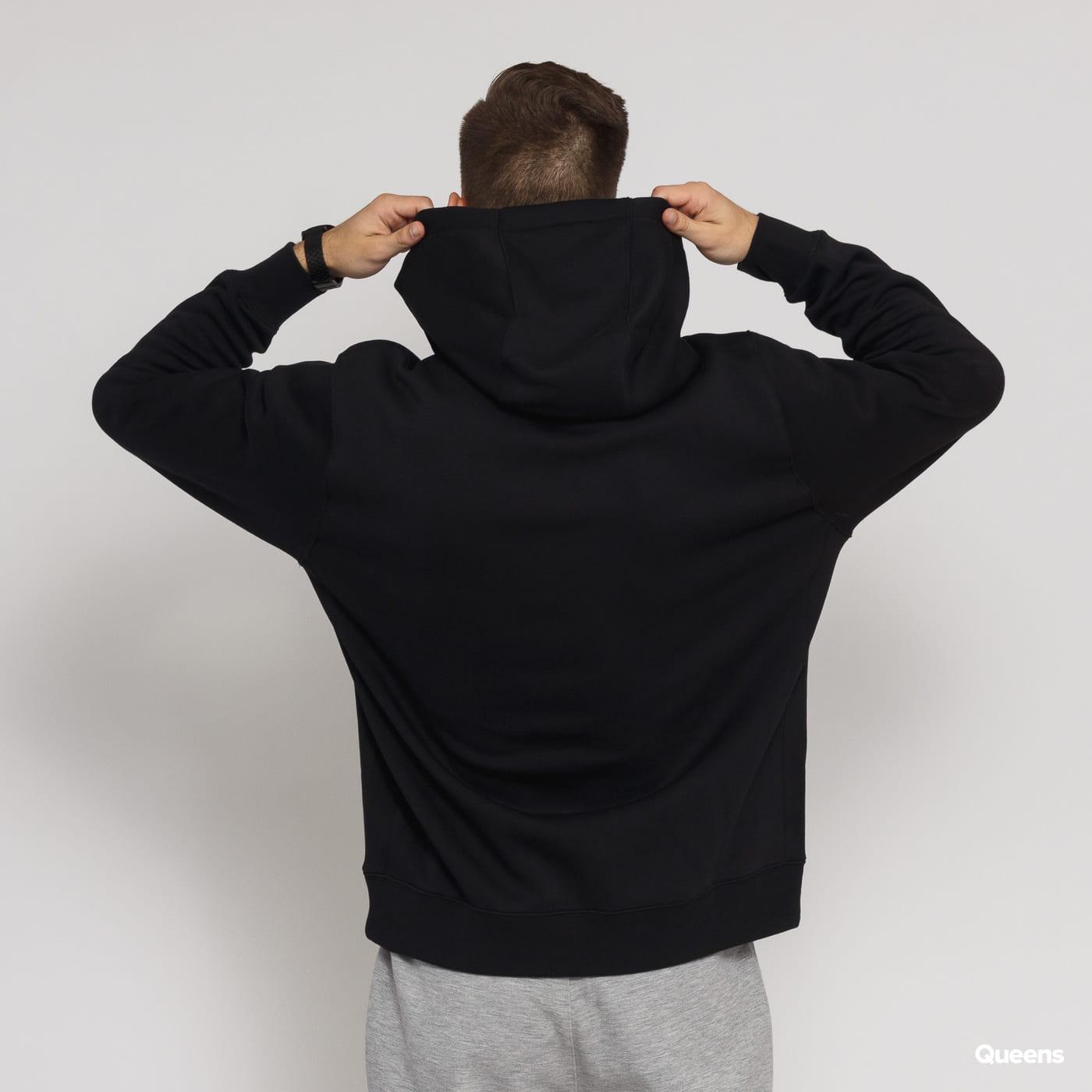 Nike M NSW Club Hoodie PO BB schwarz