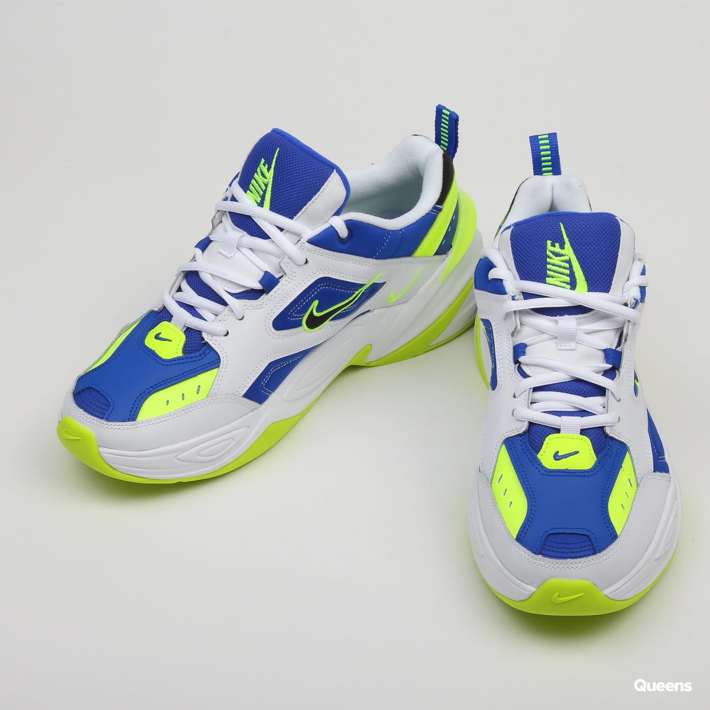 Temporada gobierno Previamente  Sneakers Nike M2K Tekno white / black - volt - racer blue (AV4789 ...
