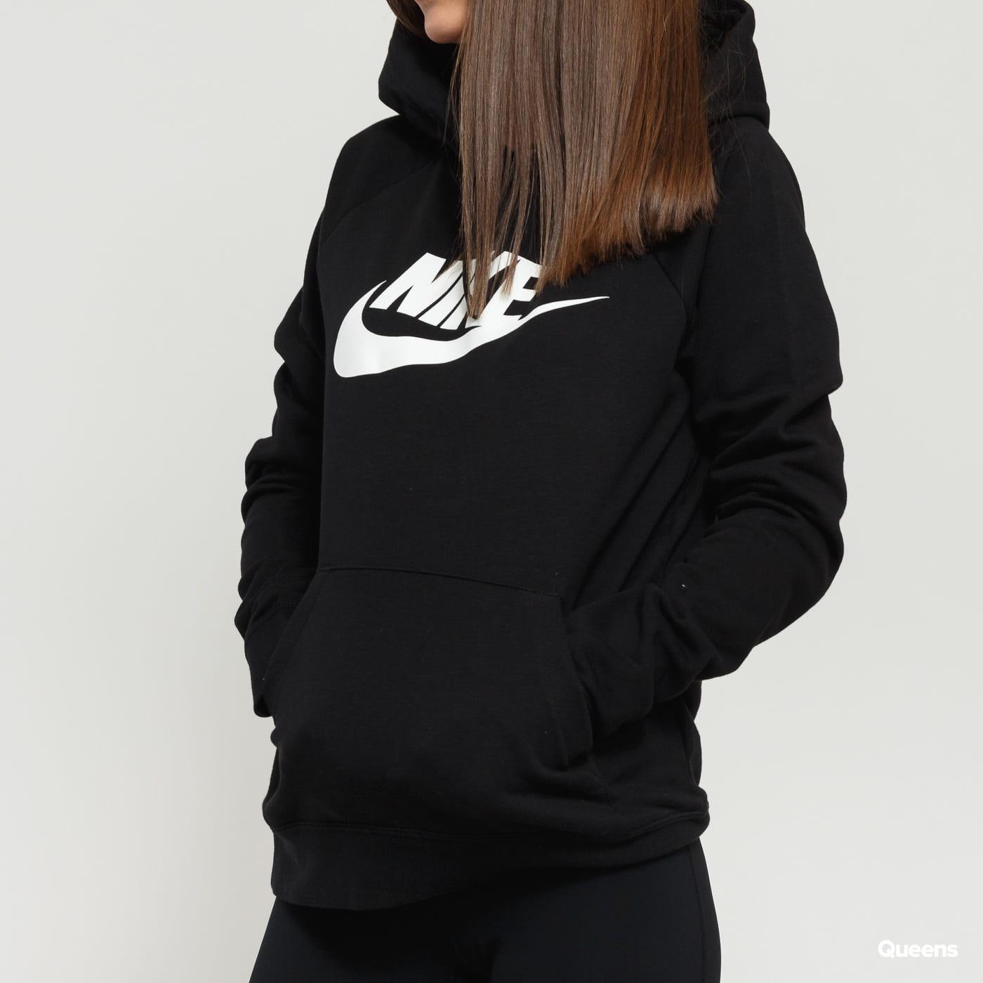 Nike W NSW Essential Hoodie PO čierna
