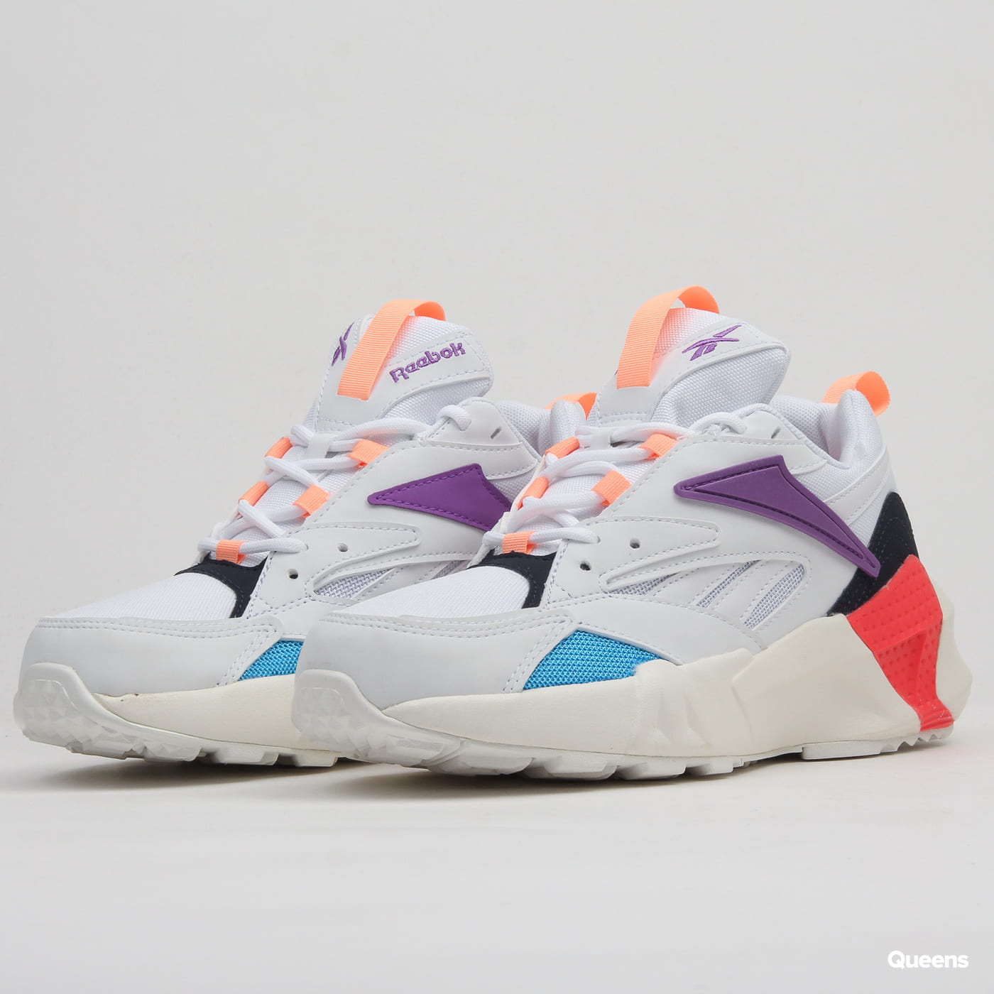 cf8ba37796 Reebok Aztrek Double Mix Pops white / grape punch / bright