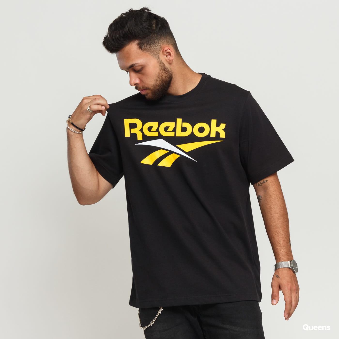 Reebok M Classics Vector Tee čierne