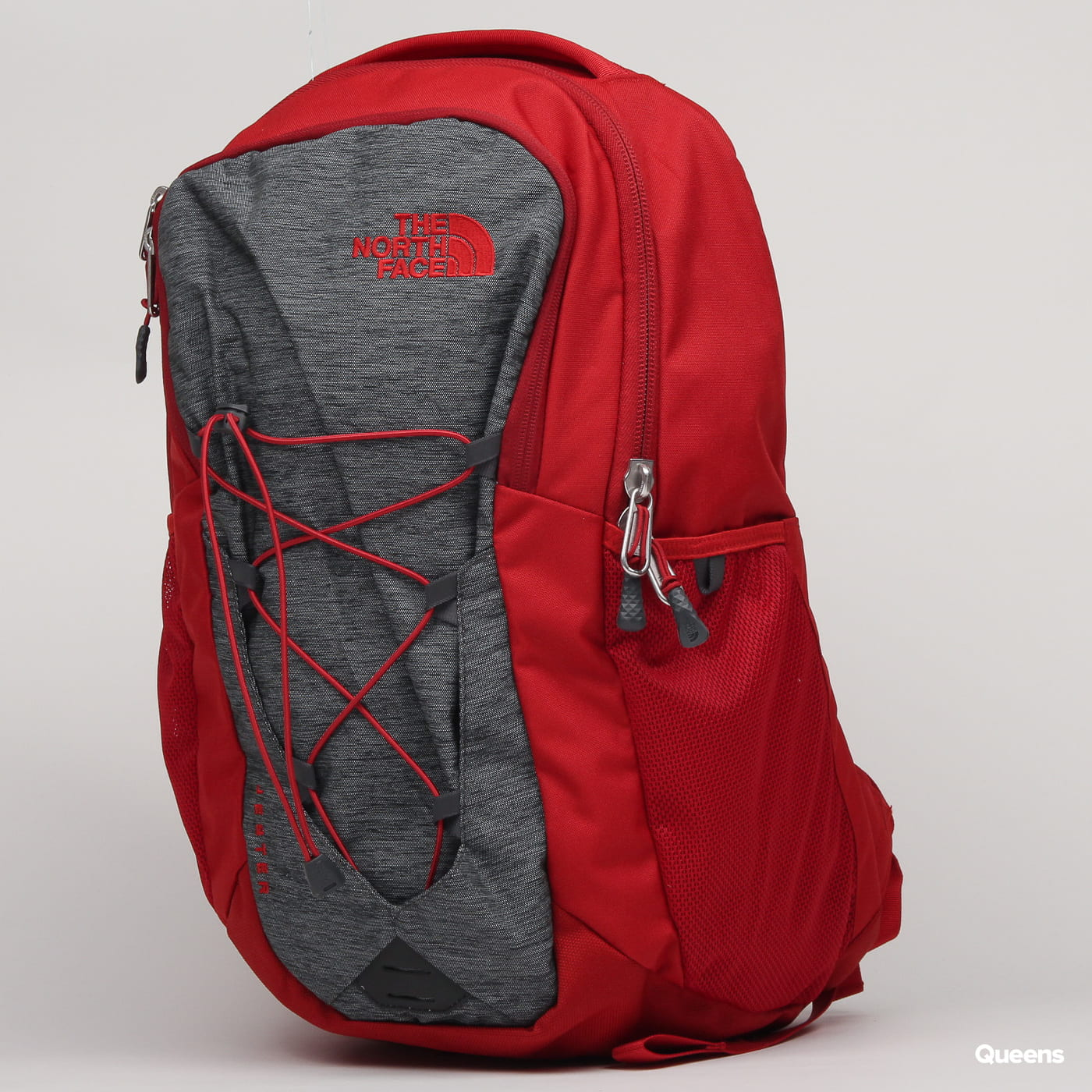 The North Face Jester dark red / melange dark gray