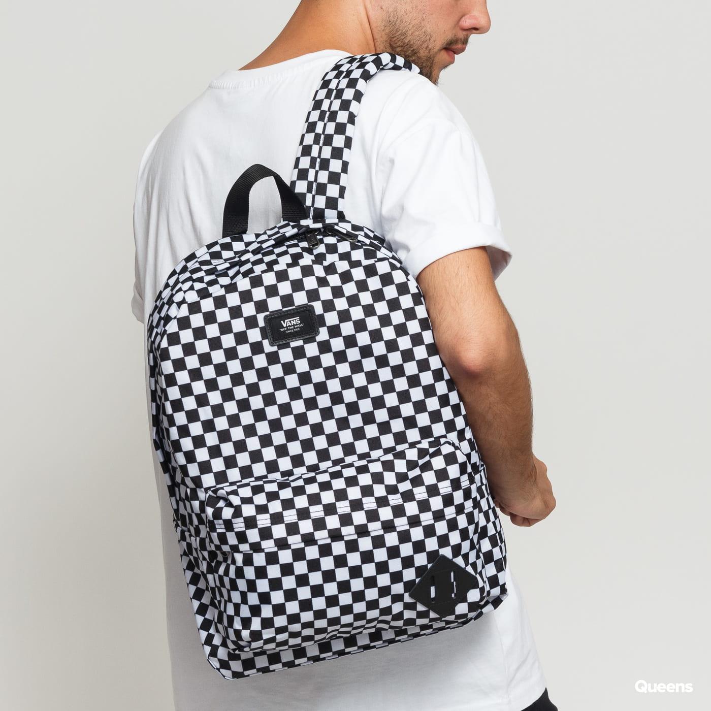 Vans Old Skool III Backpack biely / čierny