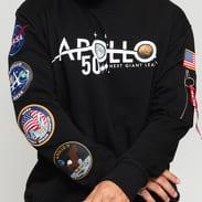 Alpha Industries Apollo 50 Patch Sweater černá