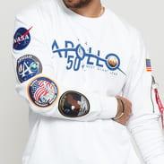 Alpha Industries Apollo 50 Patch Sweater bílá